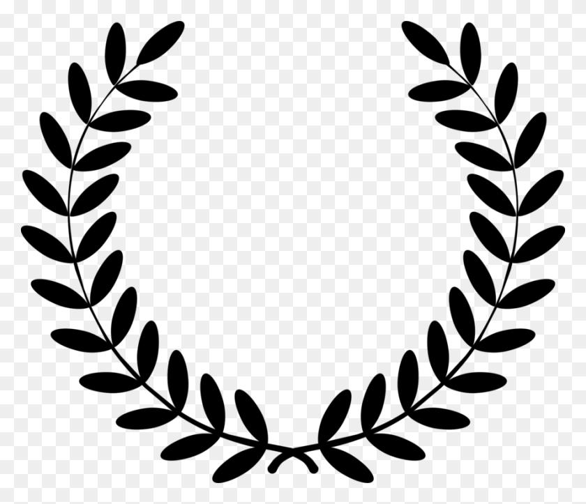 Laurel Wreath Bay Laurel Drawing Award - Circle Wreath Clipart