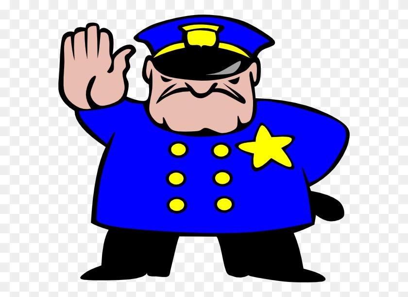 600x551 Law Enforcement Clip Art - Cop Car Clipart