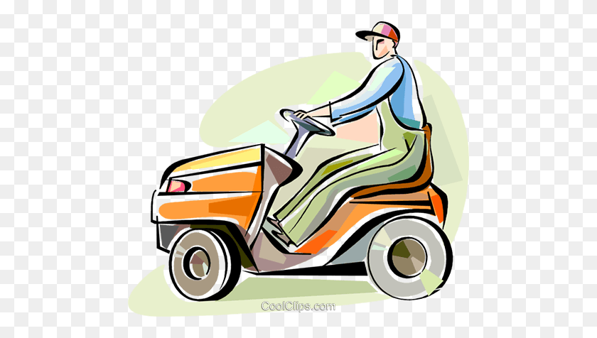Lawnmowers Royalty Free Vector Clip Art Illustration Riding Lawn Mower Clipart Stunning Free Transparent Png Clipart Images Free Download