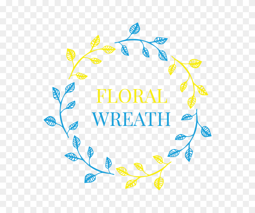 Leaf Floral Ornaments Wreath Badge, Wedding, Wreath, Ornaments Png - Free Wreath Clip Art