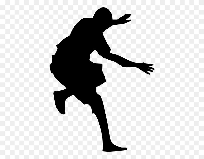 Leap Dance Silhouette Clip Art - Leap Clipart