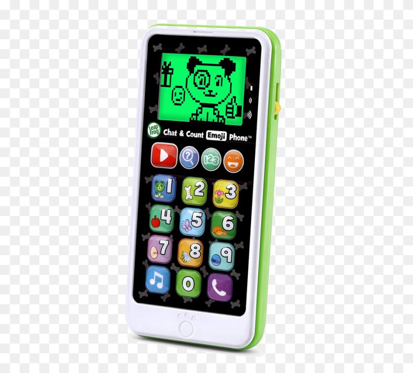 Leap Frog Chat Count Emoji Phone - Phone Emoji PNG
