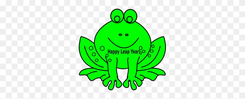 Leap Year Frog Clip Art - Leap Clipart