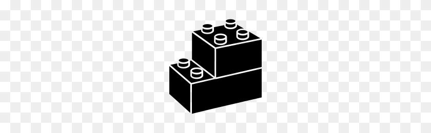 Lego Blocks Icons Noun Project - Lego Block PNG