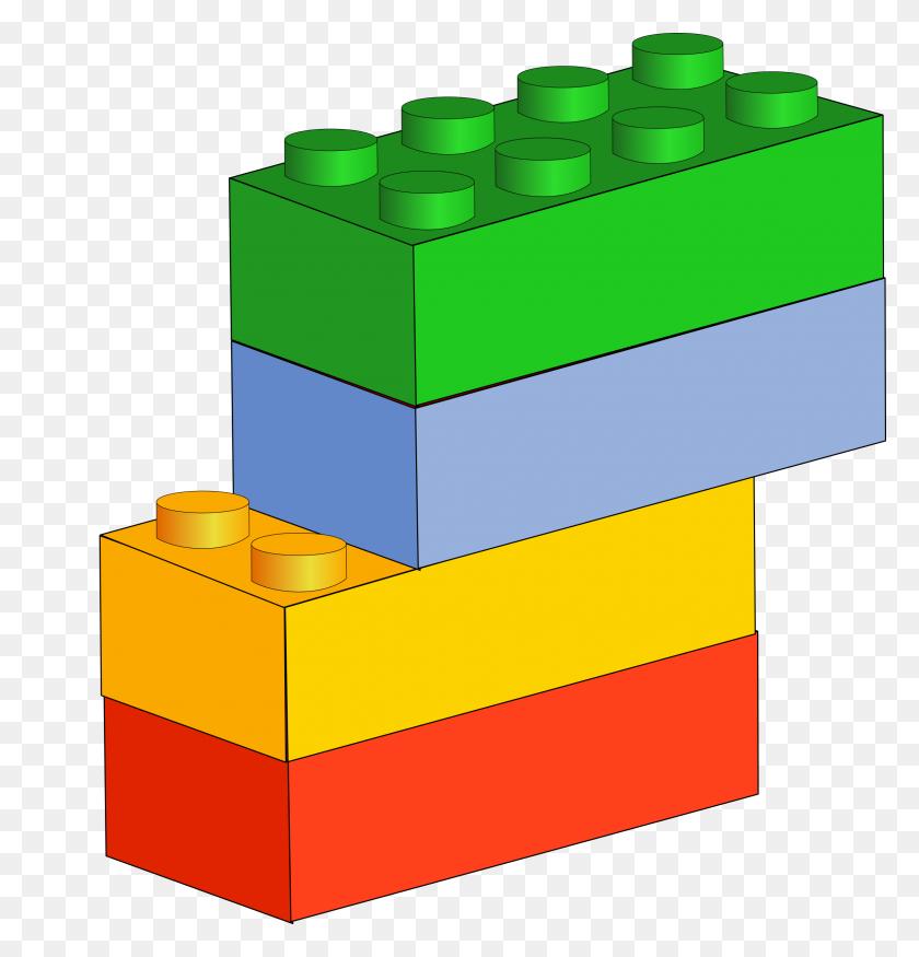 Lego Blocks Vector Clipart Image - Lego Block PNG