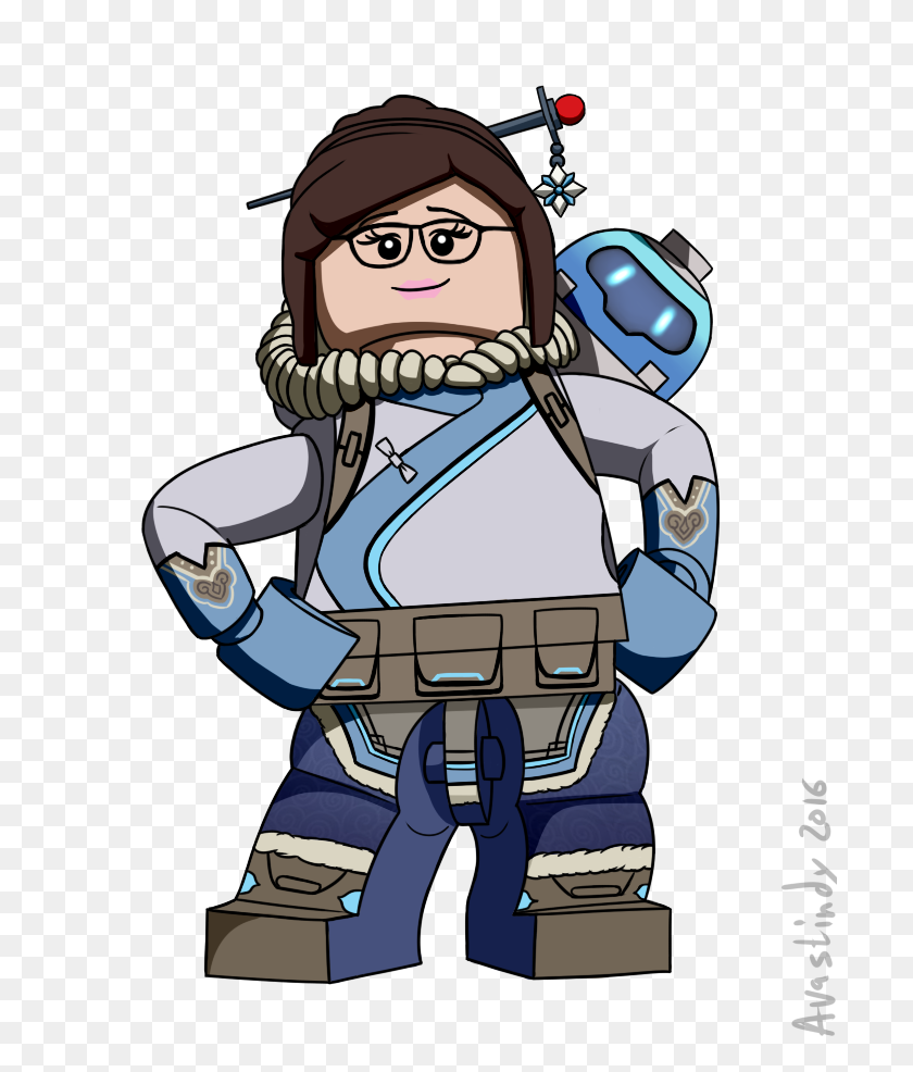 700x926 Lego Mei Overwatch Know Your Meme - Mei Overwatch PNG