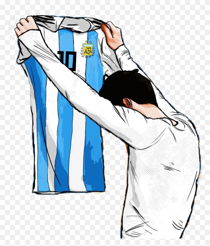 Leo Messi Argentina Football Goal Jersey Like Love Uzb - Messi Clipart