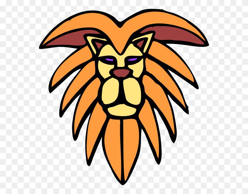 Leone Clip Art Free Vector - Lion Mascot Clipart