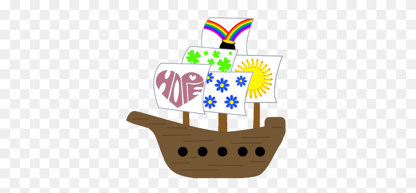 Lessons Of Hope, Day Nail Your Colours! - Pirate Ship Clip Art