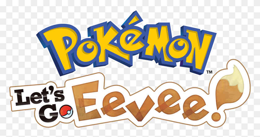 Lets Go Eevee Logo - Pokemon Go Logo PNG