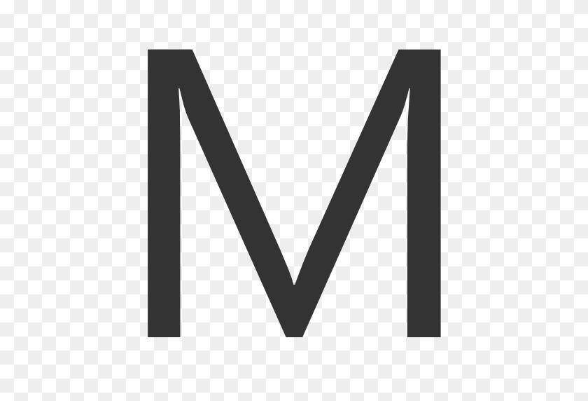 512x512 Letter M Png High Quality Image Png Arts - M PNG