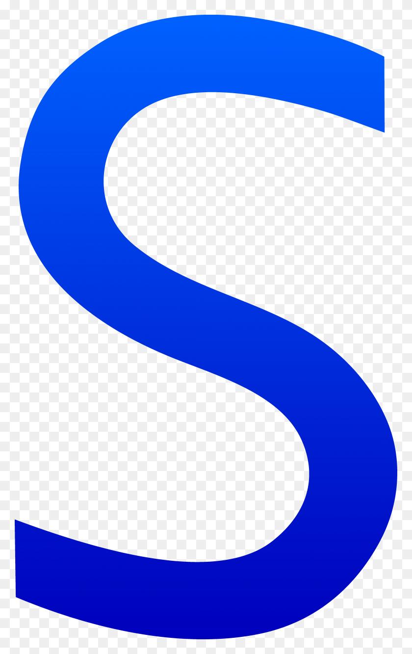 4302x7026 Letter S Clip Art - S Clipart