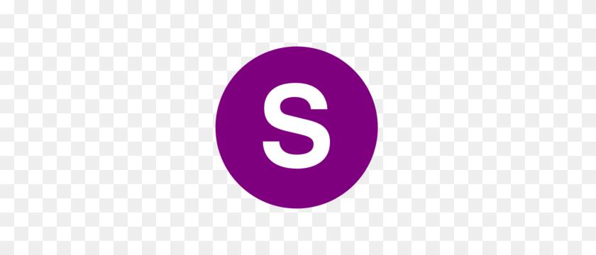300x300 Letter S Purple Clip Art - S Clipart