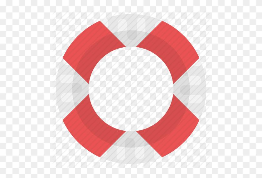 Life Preserver, Life Ring, Lifebuoy, Lifeguard, Lifesaver Icon - Life Preserver Clipart