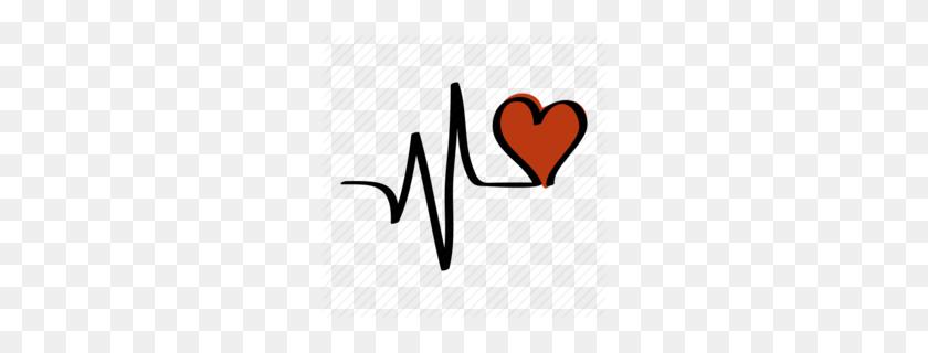 Lifeline Heart Clipart - Heartbeat Clipart