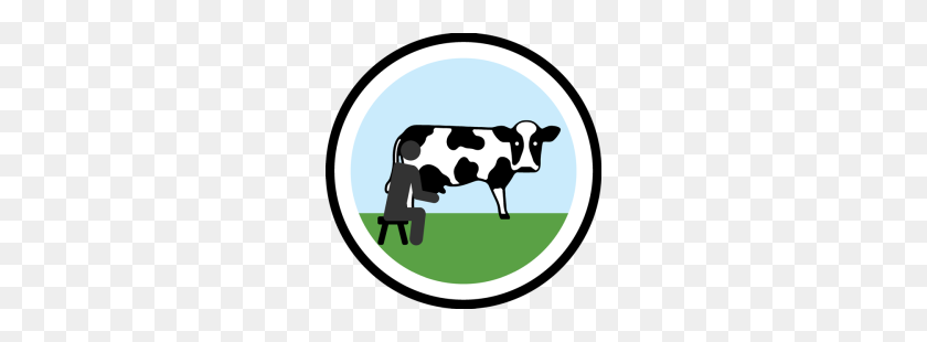 Lifescouts Cow Milking Badge If You Have This - Milking A Cow Clipart