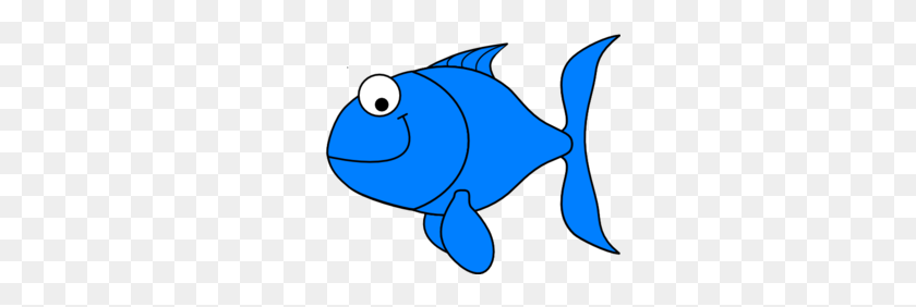 Light Blue Fish At Vector Online Fish Clipart - Dr Seuss Fish Clipart