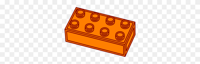 Light Brown Lego Block Clip Art - Lego Block PNG