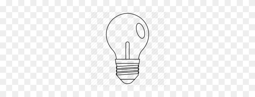 Light Bulb Clipart - Light Bulb Clipart Black And White