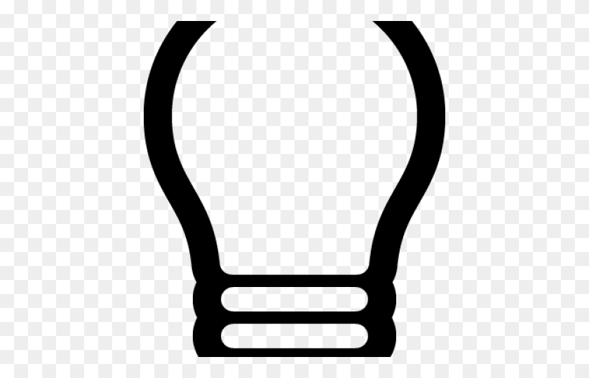 Light Bulb Clipart Transparent Background - Light Bulb Clipart No Background