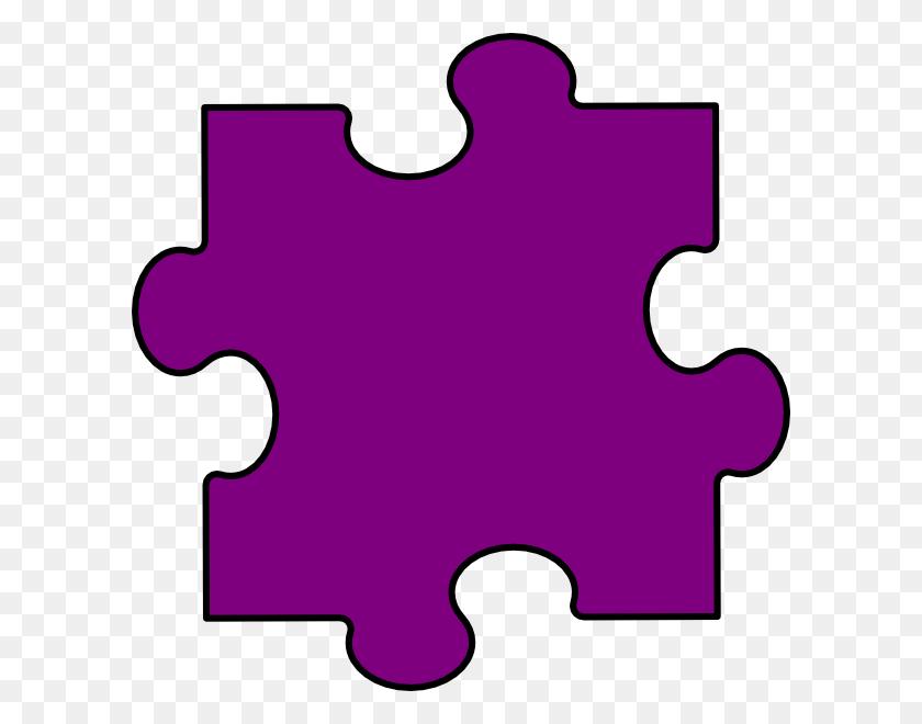 Light Purple Puzzle Piece Clip Art - Doc Mcstuffins Clipart