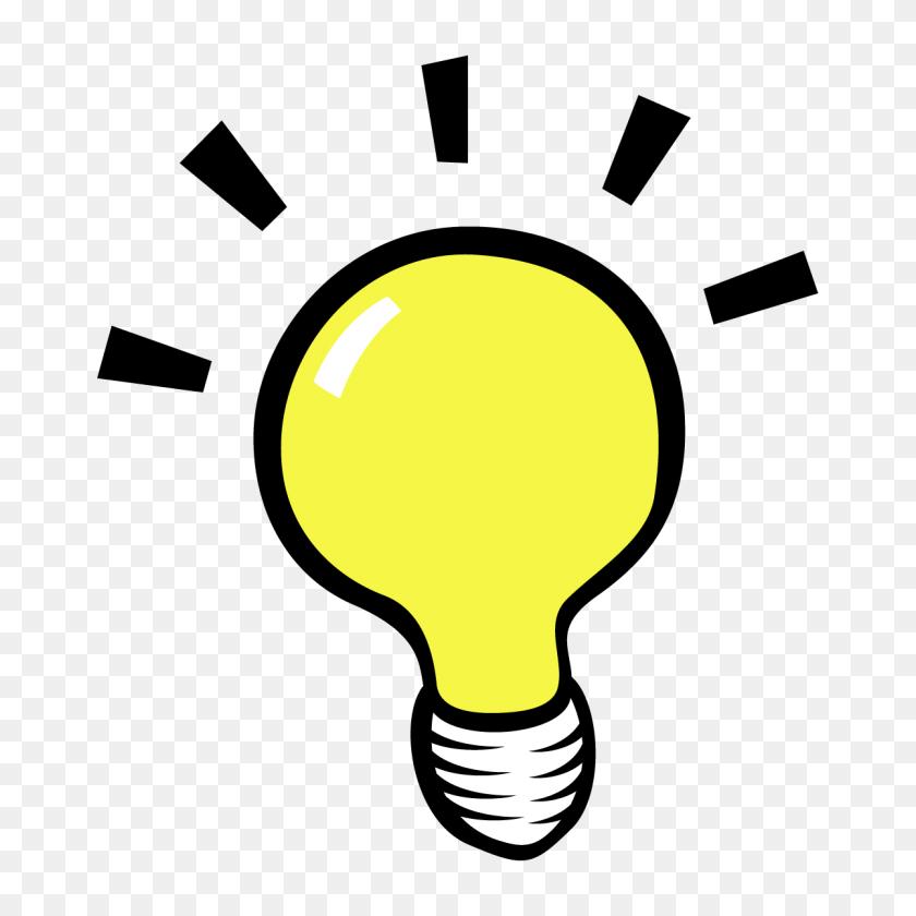 Lightbulb Eureka Light Bulb Clipart - Light Bulb Clipart Black And White