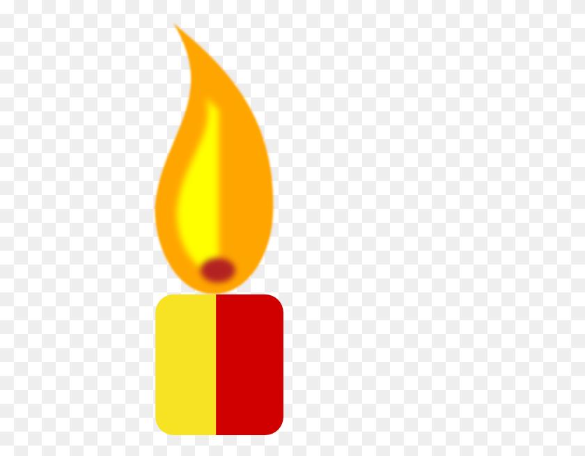 Lightening Clipart Candle - Menorah Clipart Free