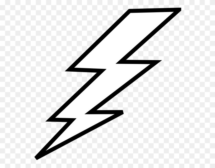 Lightening Clipart Thunderbolt - Pansy Clipart