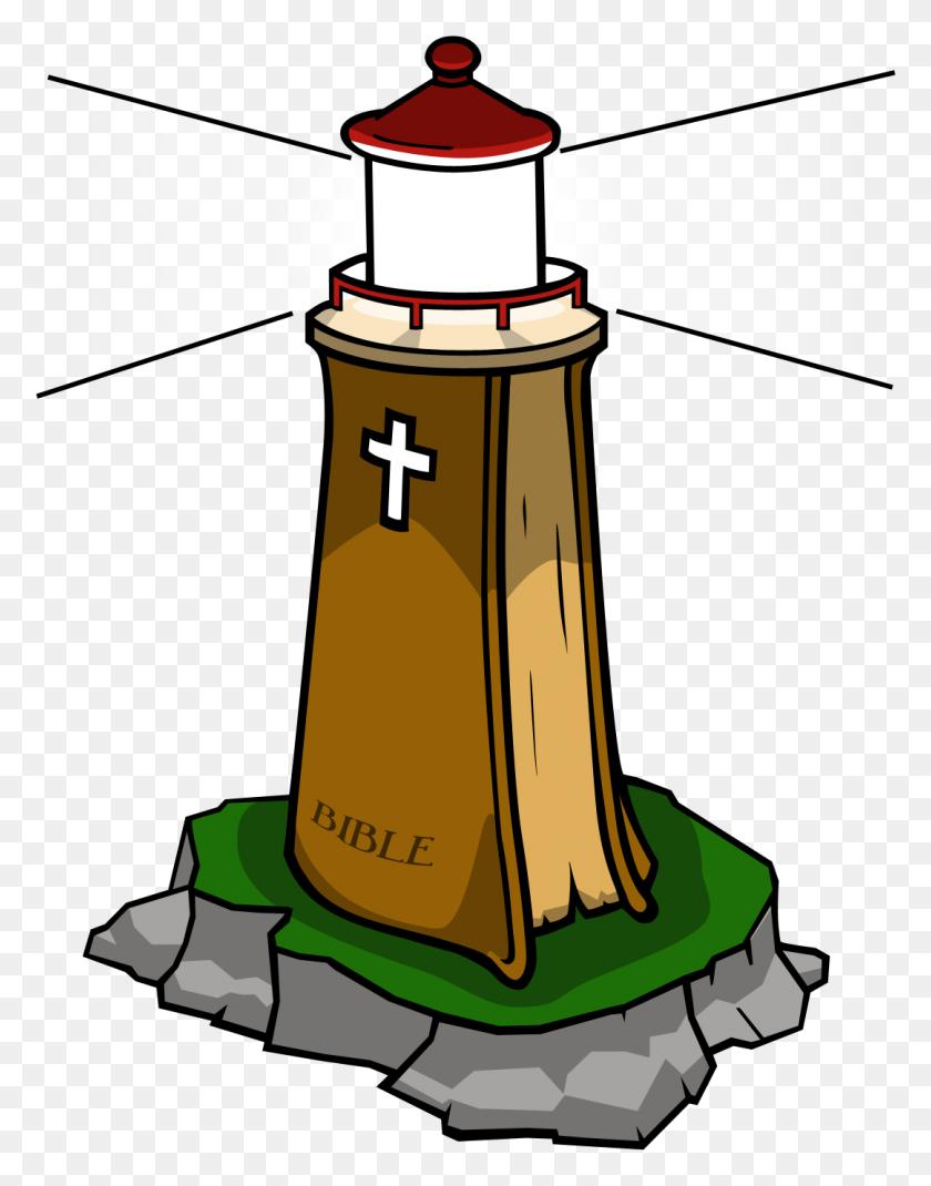 Lighthouse Bible Clip Art - Church Clipart PNG