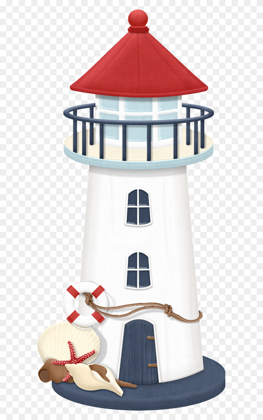 Lighthouse Maryfran Podelki Lighthouse, Clip - The Little Mermaid Clipart