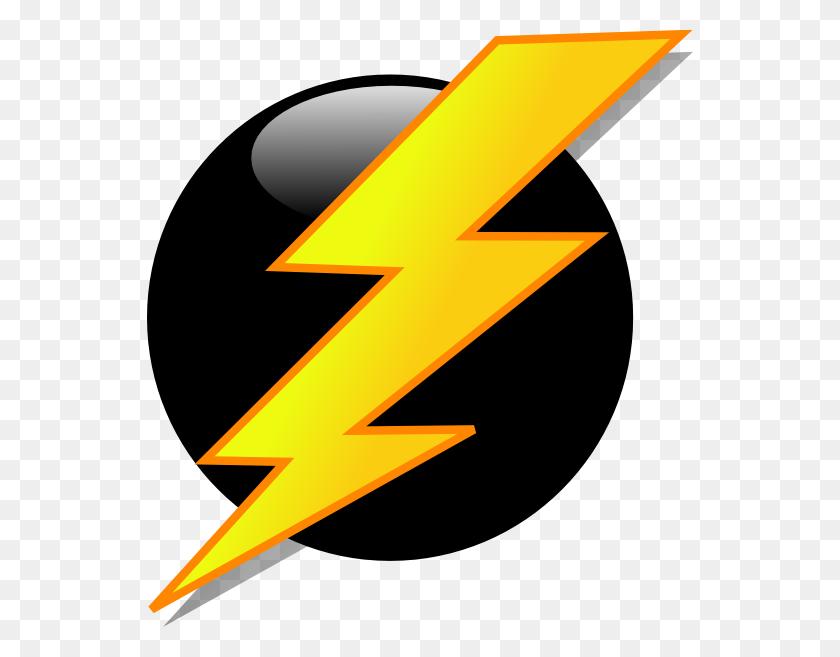 Lightning Bolt Clip Art Black And White - Bolt Clipart