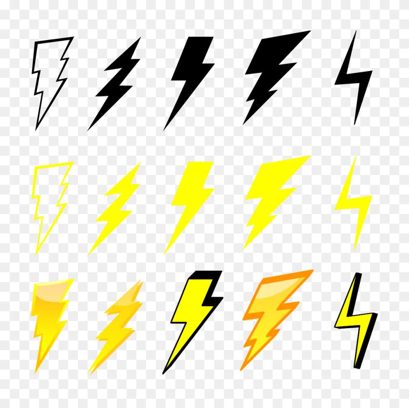Lightning Bolt Graphics Free Download Clip Art - Lightning Bolt Clipart PNG
