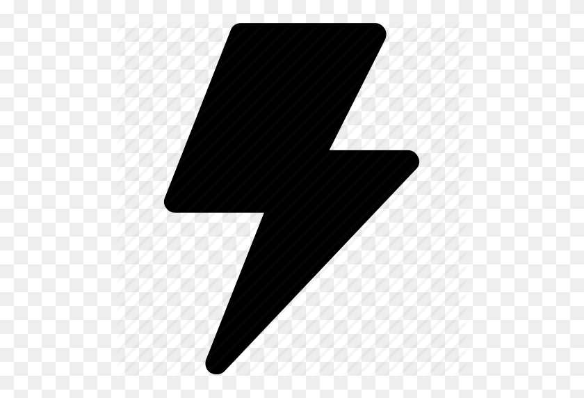 Lightning Flash, Thunder, Thunder Bolt, Thunder Lightning Icon Icon - Lightning Icon PNG