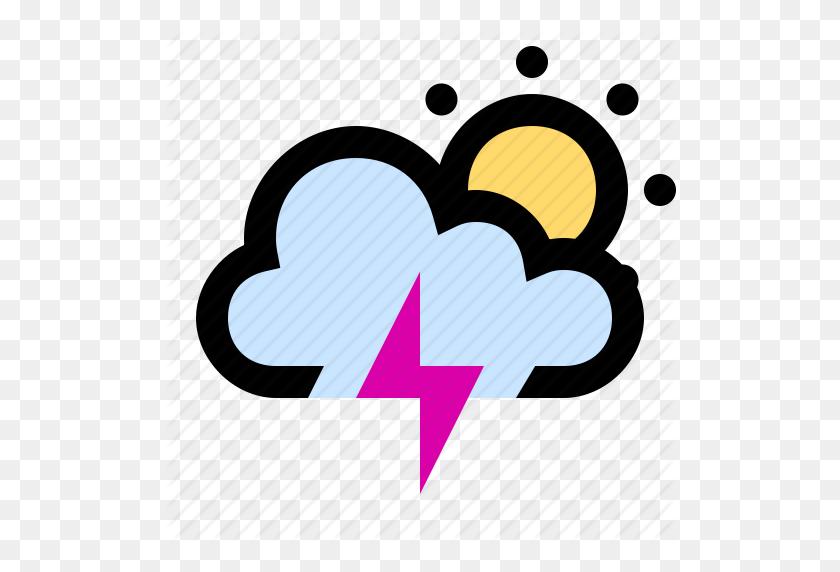 Lightning, Lightning Bolt, Lightning Strike, Storm, Sunny, Thunder - Lightning Strike Clipart