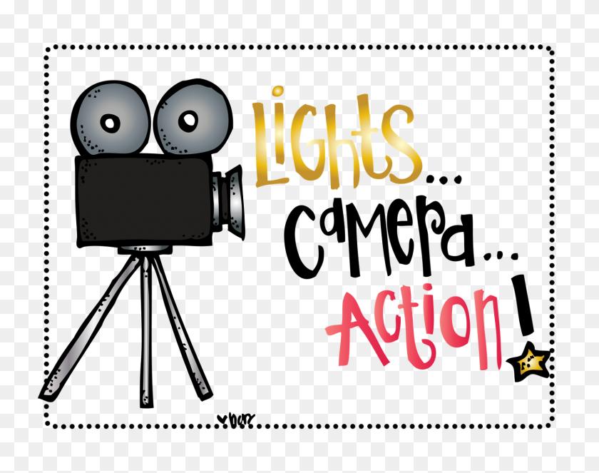 Lights Camera Action Clip Art - Melonheadz Clipart