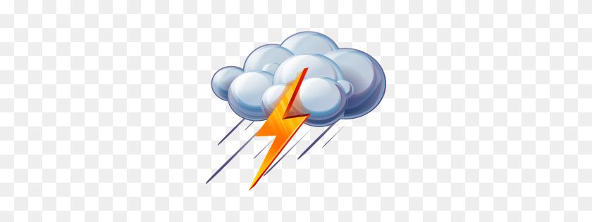 256x256 Lights Clipart Thunder - Spark Clipart