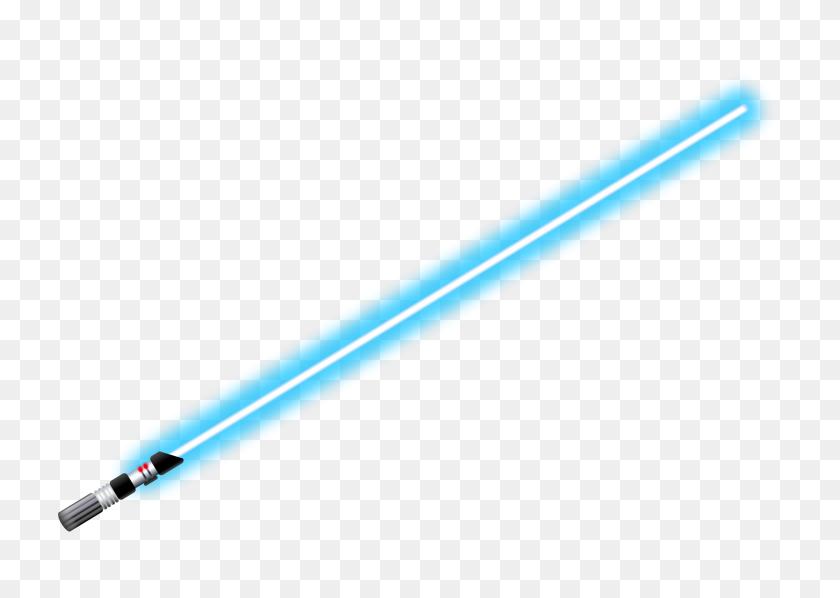 Lightsaber Blue - Red Lightsaber PNG