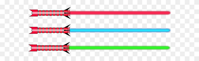 600x200 Lightsaber Clip Art Is Free - Saber Clipart