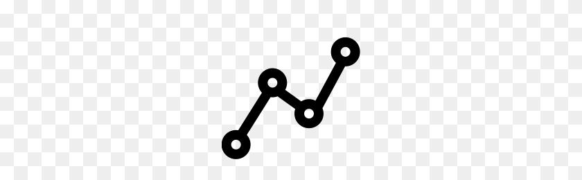 Line Graph Icons Noun Project - Line Graph PNG