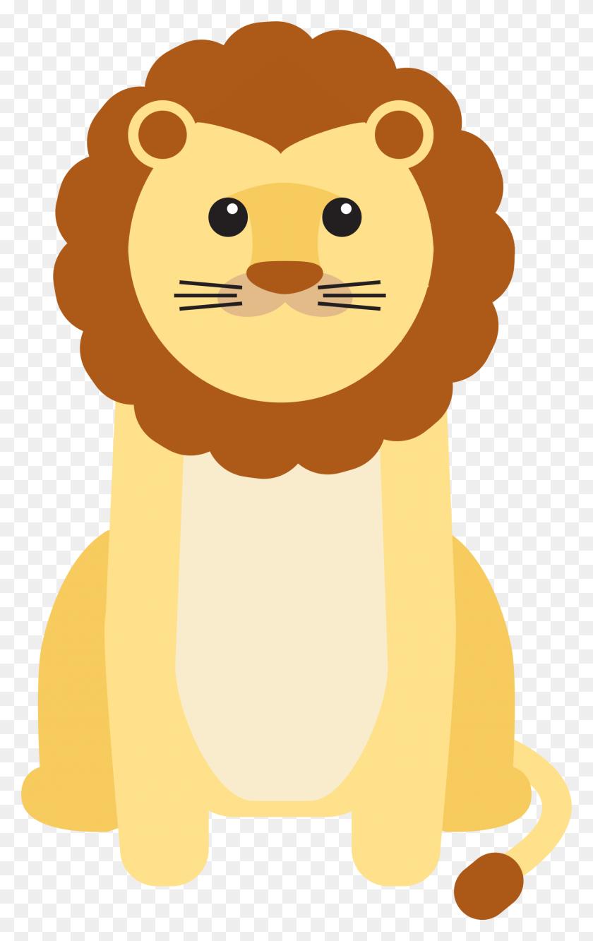 Lion Cubs Cat Kitten Clip Art - Baby Head Clipart