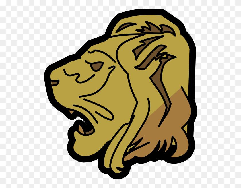 Lion Head Outline Free Vector Graphics, Lions - Lion Vector PNG