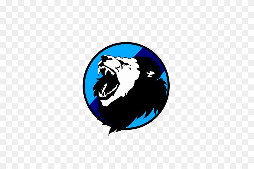 Lion Roaring - Lion Mascot Clipart