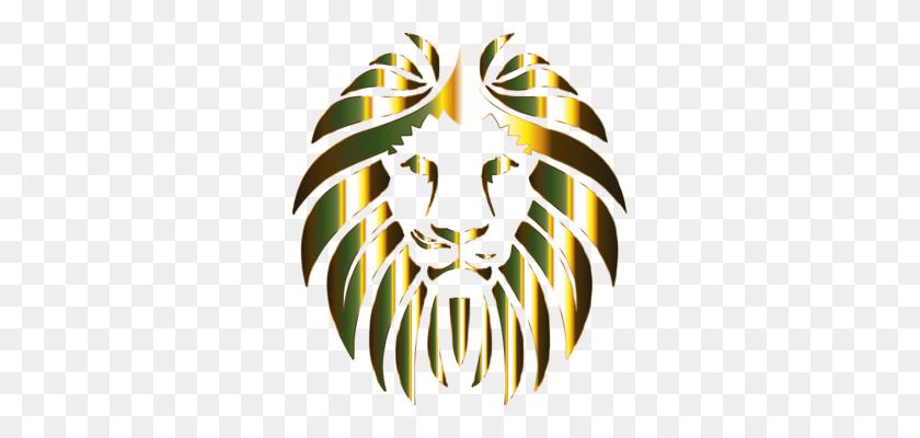 Lionhead Rabbit Big Cat Roar - Lion Mascot Clipart