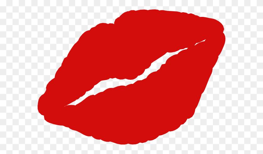 Lips Clipart Kissy Lip - Lip Gloss Clipart