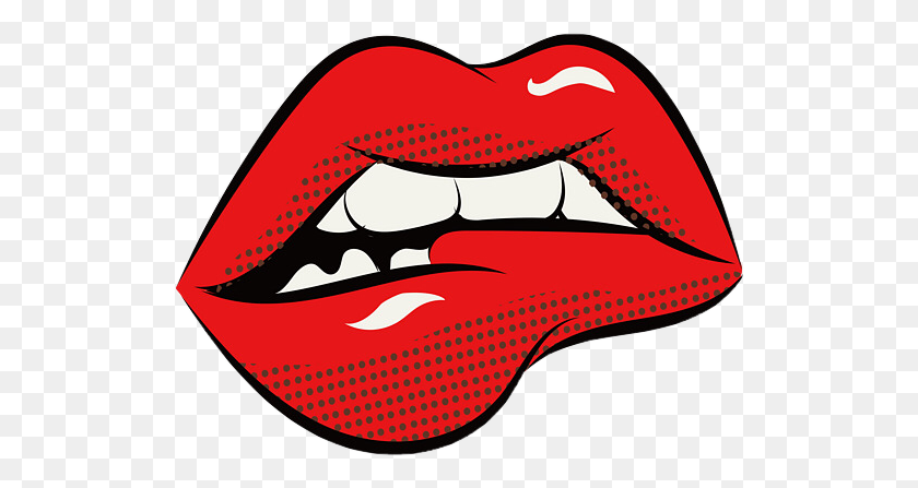 Lips Popart Ftestickers Freetoedit - Pop Art PNG