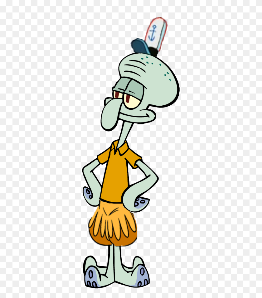 List Of Synonyms And Antonyms Of The Word Squidward Hat Squidward