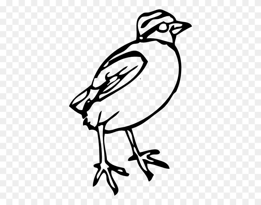Little Bird Clip Art - White Bird Clipart