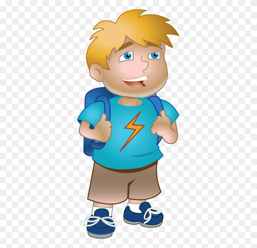 Naughty Little Boy, Wink Expression, Cartoon Character, Blue Coat PNG  Transparent Clipart Image and PSD File for Free Download