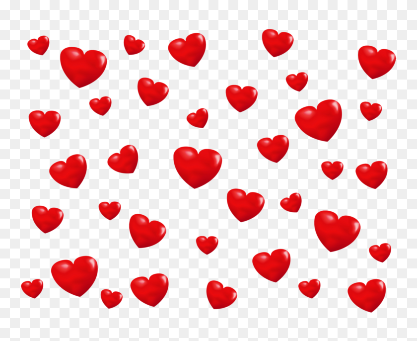 2500x2008 Little Hearts Overlay Transparent Png - Valentines Day PNG