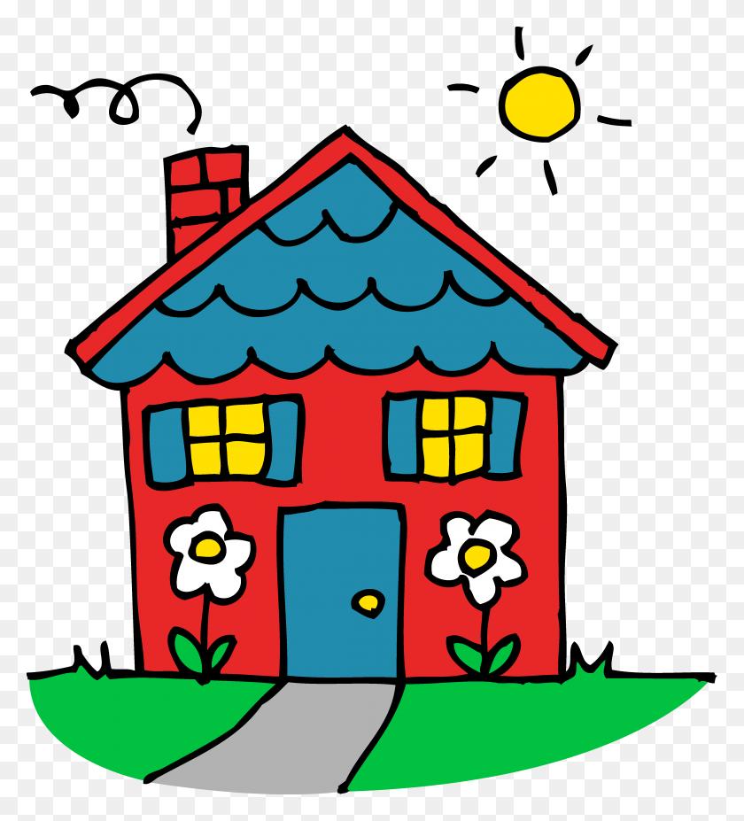 Little House Clip Art Free Vectors Make It Great! - Cute Bulldog Clipart